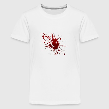Blood spot - Teenage Premium T-Shirt