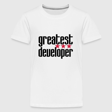 Greatest Developer - Teenage Premium T-Shirt