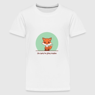 Kawaii fox girl - T-shirt Premium Ado