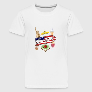 I love New York - Teenager Premium T-Shirt