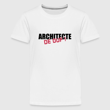 Architekt / Architektur / Arbeit / Job - Teenager Premium T-Shirt