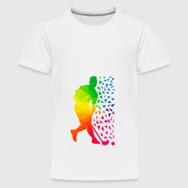 Floorball - Teenager Premium T-Shirt
