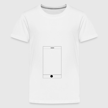 mobiel - Teenager Premium T-shirt
