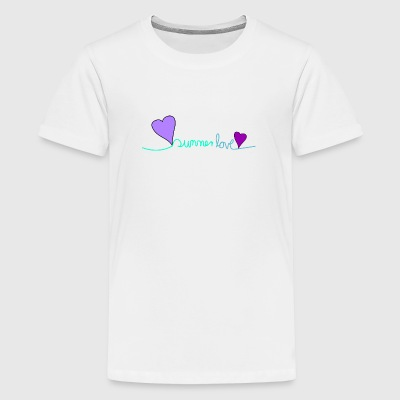 Summerlove Coloured Edition 2017 - Teenager Premium T-Shirt