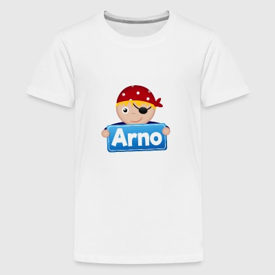 Kleiner Pirat Arno - Teenager Premium T-Shirt