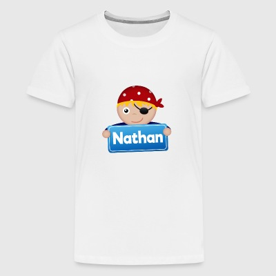 Kleine Piraat Nathan - Teenager Premium T-shirt