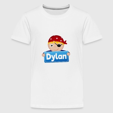 Lidt Pirate Dylan - Teenager premium T-shirt