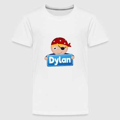 Kleine Piraat Dylan - Teenager Premium T-shirt