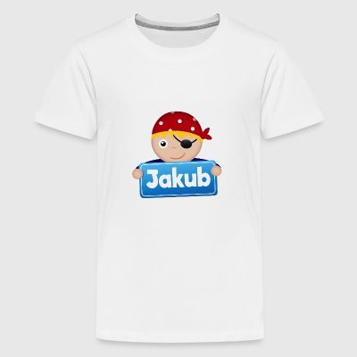 Kleiner Pirat Jakub - Teenager Premium T-Shirt