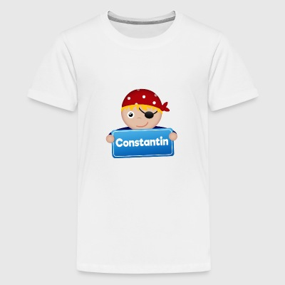 Little Pirate Constantin - Premium-T-shirt tonåring