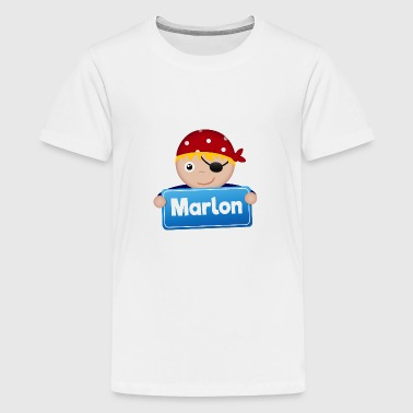 Kleine Piraat Marlon - Teenager Premium T-shirt