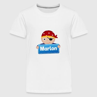 Little Pirate Marlon - Premium-T-shirt tonåring