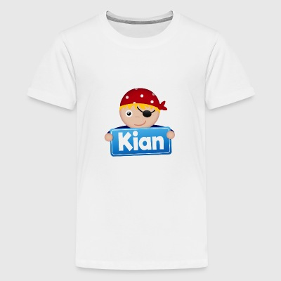 Little Pirate Kian - Premium-T-shirt tonåring