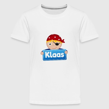 Kleiner Pirat Klaas - Teenager Premium T-Shirt