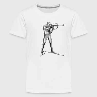 biathlon - Teenager Premium T-Shirt
