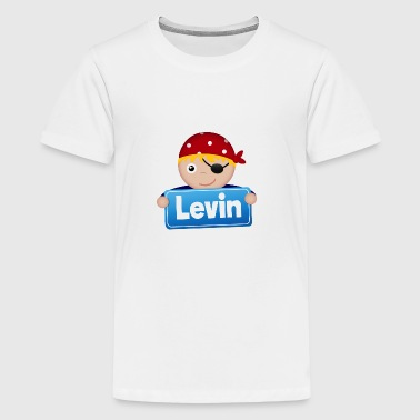 Lidt Pirate Levin - Teenager premium T-shirt
