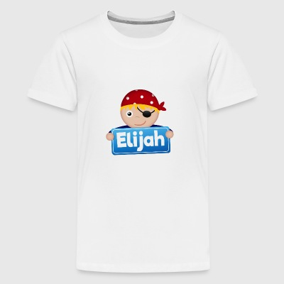 Kleiner Pirat Elijah - Teenager Premium T-Shirt