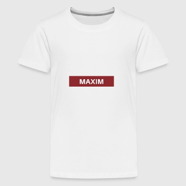 Maxim - Teenager Premium T-shirt