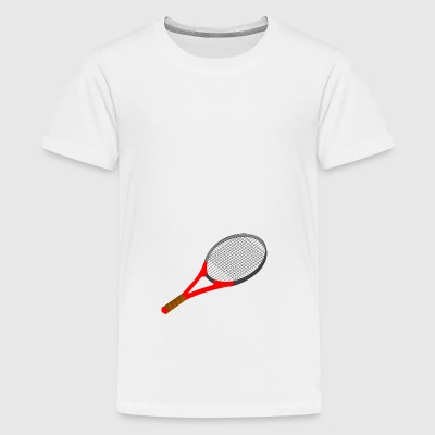 tennisracket - Teenager Premium T-shirt