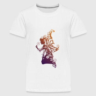 Flower Fairy OL - Teenage Premium T-Shirt