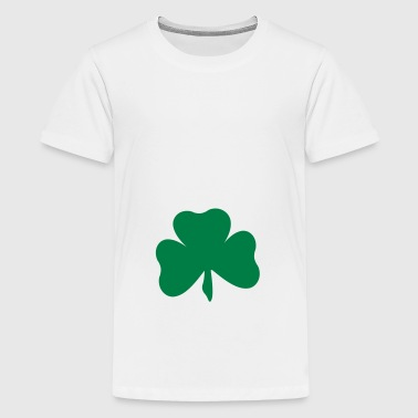 2541614 11389680 clover - Teenage Premium T-Shirt