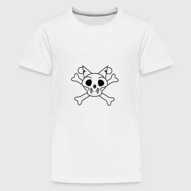 Paul, skull - Teenage Premium T-Shirt