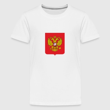 National Coat of Arms of Russia - Teenage Premium T-Shirt