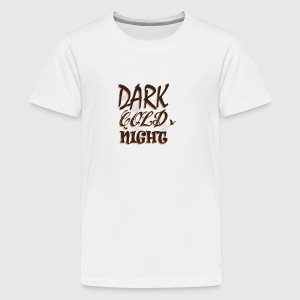 Halloween Dark Cold Night Pumpkin Fairy - Teenage Premium T-Shirt