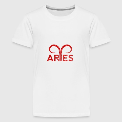 Aries / Zodiac Aries - Teenage Premium T-Shirt