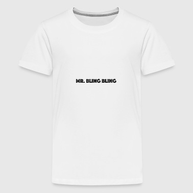 bling bling - Teenager Premium T-Shirt