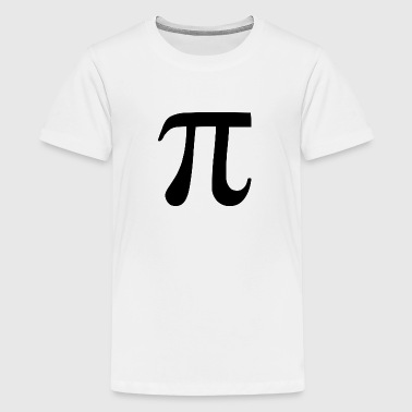 pi symbol - Teenager Premium T-Shirt