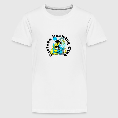 Cartoon-Zeichnung Verein - Teenager Premium T-Shirt