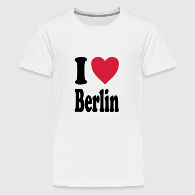I love Berlin - Teenage Premium T-Shirt