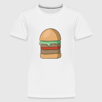 hamburger - Teenager Premium T-Shirt