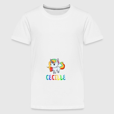 Unicorn Cecille - Teenage Premium T-Shirt