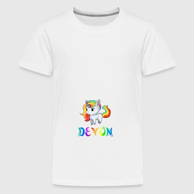 Einhorn Devon - Teenager Premium T-Shirt