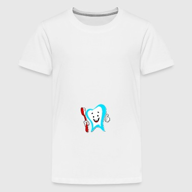 higiene dental - Camiseta premium adolescente
