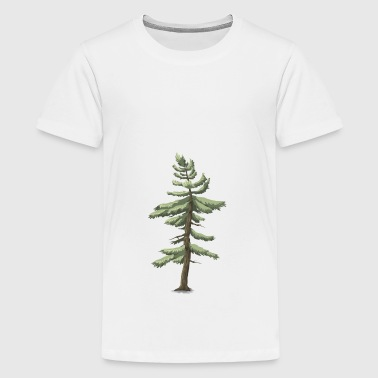 conifer - Teenage Premium T-Shirt