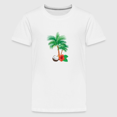 Caribien flair - Teenager premium T-shirt