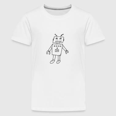 Robot1 - Teenager Premium T-Shirt