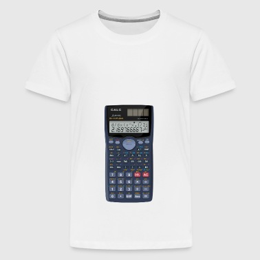 Lommeregnere Math shirt - Teenager premium T-shirt