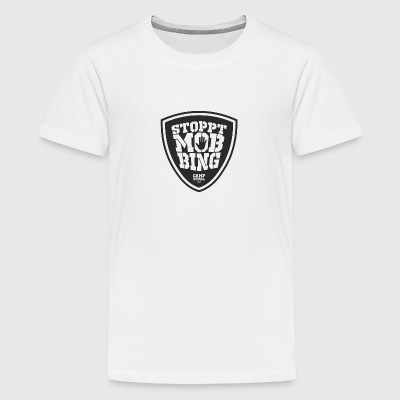 Stop bullying black - Teenage Premium T-Shirt