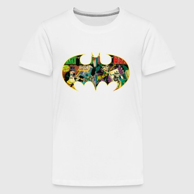 Batman Logo Comic teenage T-shirt - Teenager premium T-shirt