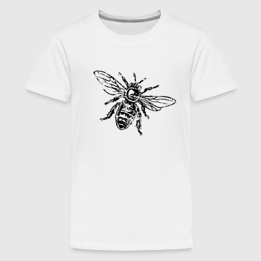 Bee Honeybee - Teenage Premium T-Shirt