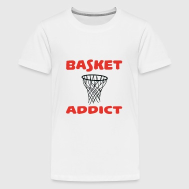 Basket addict - Teenager Premium T-shirt