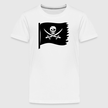 piraten flagge - Teenager Premium T-Shirt