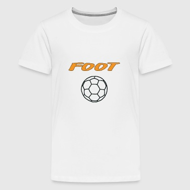 Foot - T-shirt Premium Ado