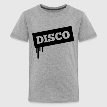1F drip disco - Teenage Premium T-Shirt
