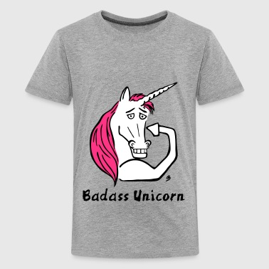 Wynonna Earp Badass Unicorn - Teenage Premium T-Shirt