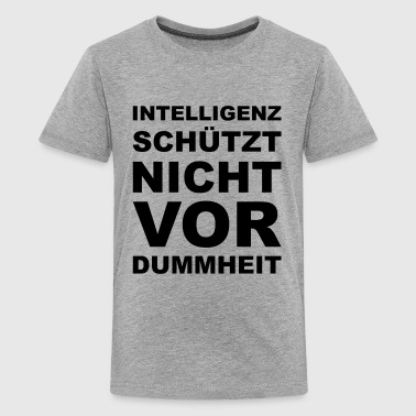 Intelligenz - Teenager Premium T-Shirt
